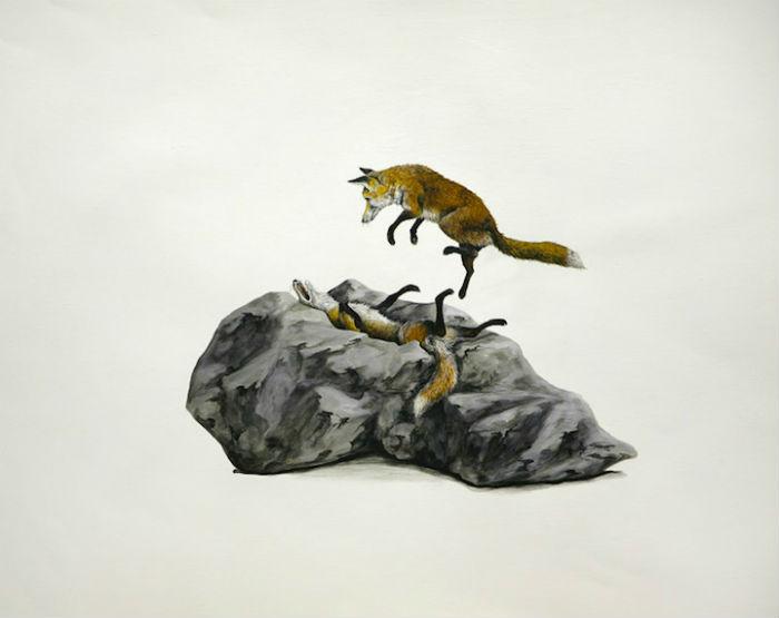 Молодой американский иллюстратор Райан МакЛеннан (Ryan McLennan) привлекает внимание к проблемам окружающей среды