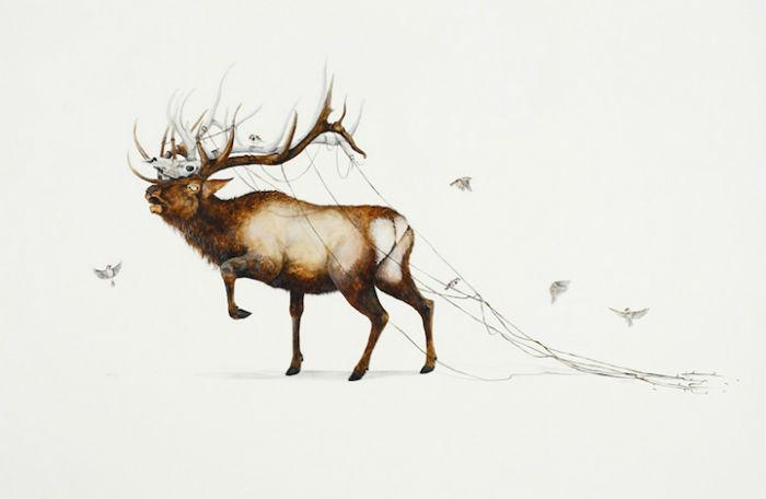 Работы американского иллюстратора Молодой американский иллюстратор Райана МакЛеннана (Ryan McLennan)