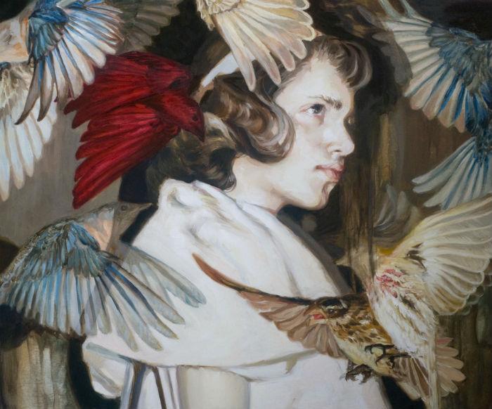 Работы американской художницы Меган Хауленд (Meghan Howland) загадочны и экспрессивны
