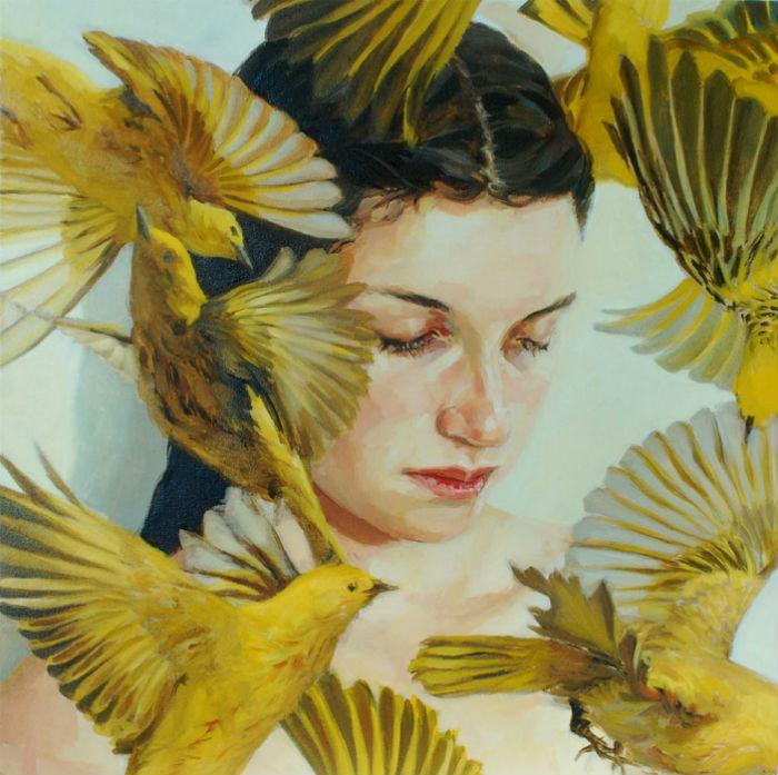 Работы американской художницы Меган Хауленд