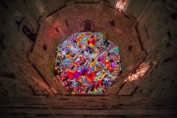 Удивительная инсталляция Мигеля Шевалье  Magic carpets
