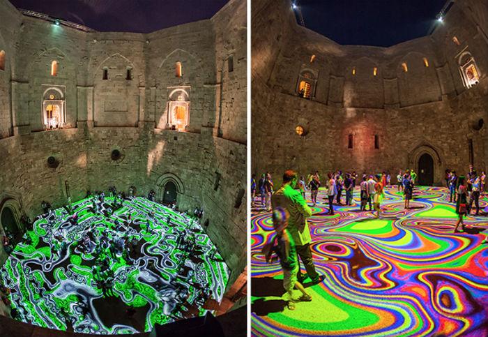 Волшебные ковры Мигеля Шевалье теперь в Италии
