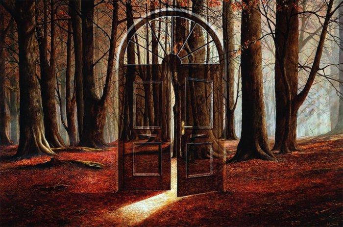 Удивительные сюрреалистичные пейзажи британского художника