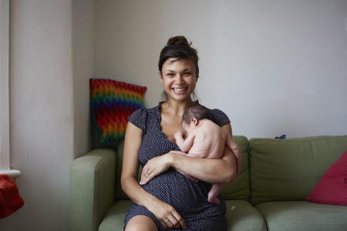 Интересный проект о материнстве от Дженни Льюис