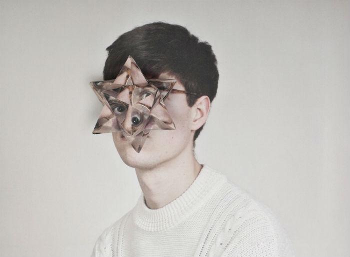Художница Альма Хэйсер (Alma Haser) создает интересные фотопортреты с элементами оригами