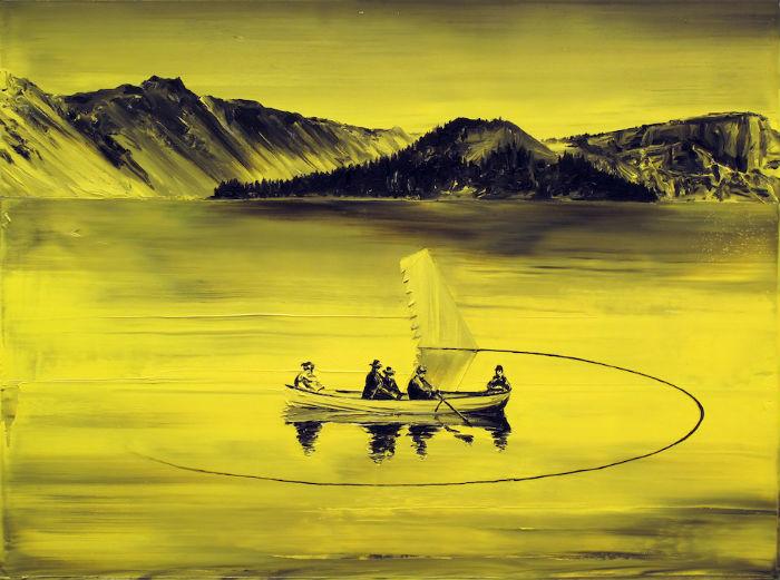 Пейзажи в интерпретации испанского художника Помета