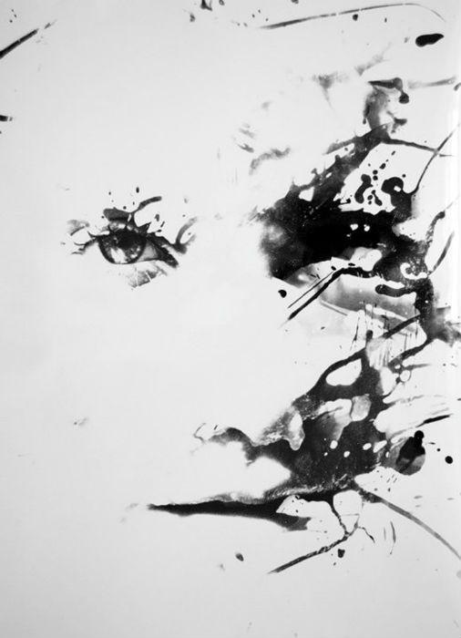 Работы Пакрона напоминают, скорее, живопись, однако в основе каждого такого изображения лежит фотографический снимок