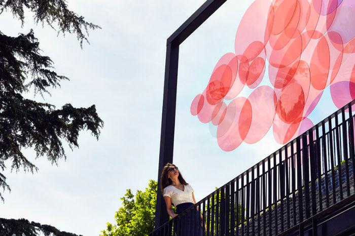 Инсталляция «Palette» («Палитра») представлена в Стамбуле лондонским дизайнером