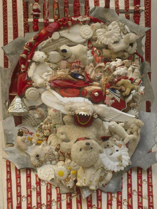 Санта-Клаус в исполнении талантливого французского скульптора и художника