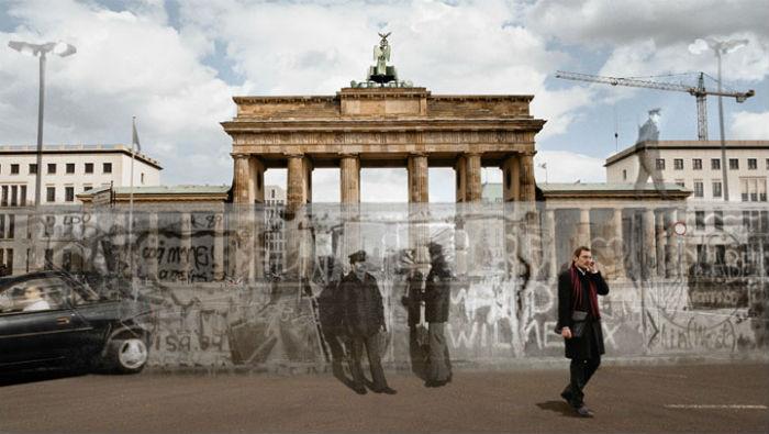 Берлинская стена - государственная граница ГДР с Западным Берлином