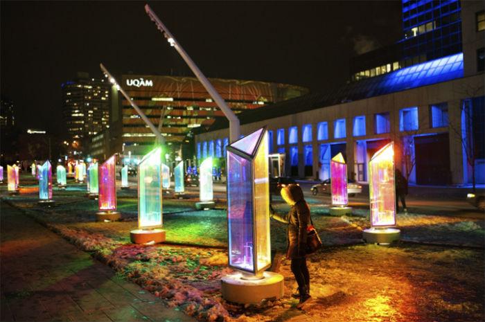 Инсталляция под открытым небом Prismatica