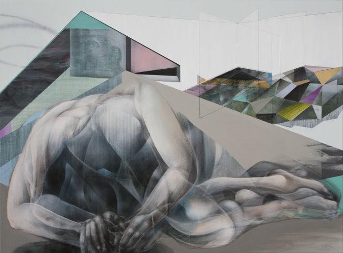 Оригинальные абстракции датского художника