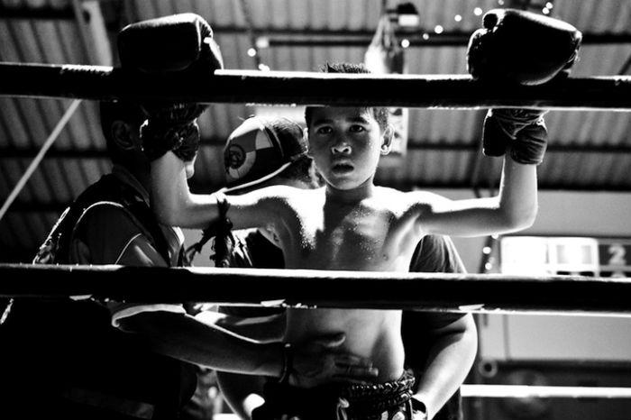 Дети на ринге