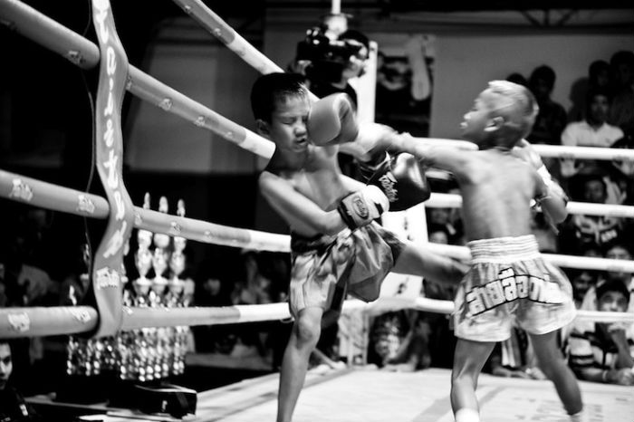 Недетские страсти на ринге
