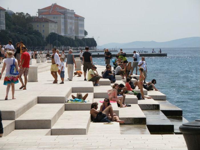 Морской орган (Morske orgulje) - удивительное музыкальное детище архитектора из Хорватии