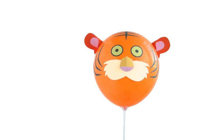 Забавные зверята из воздушных шариков от Гектора Серрано