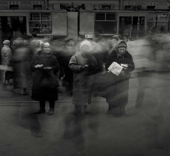 Один из самых запоминающихся фотоциклов Титаренко – серия «Город теней»