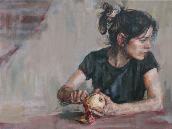 Спокойные и сдержанные по исполнению, портреты художника заряжены особой энергетикой