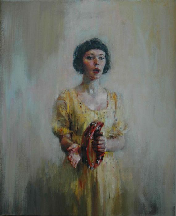 Британец Шон Фергюсон пишет талантливые женские портреты