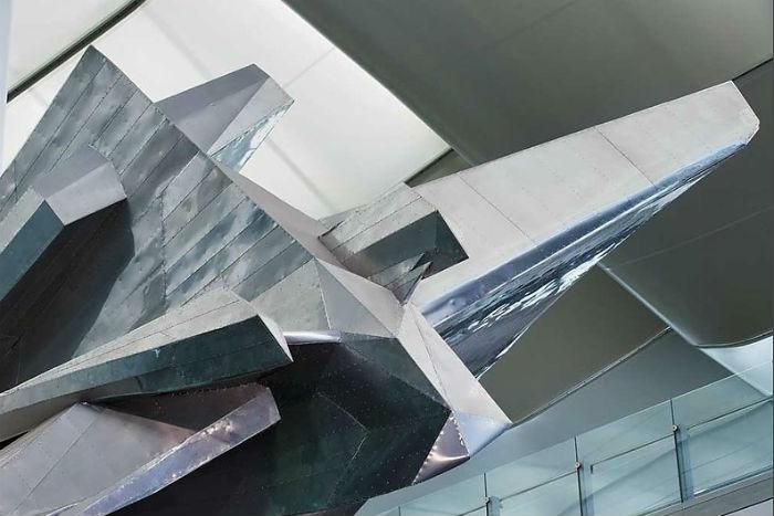 Slipstream задумывалась художником в качестве метафоры путешествий.