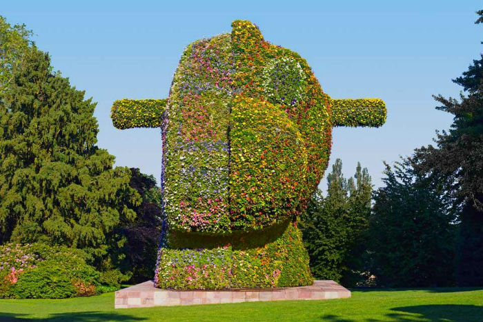 Скульптура прославленного художника Джеффа Кунса будет впервые представлена в Нью-Йорке