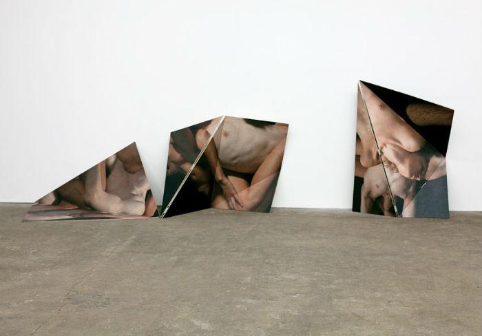 Коллажи Мэтью Стоуна, представленные на выставке BODY LANGUAGE