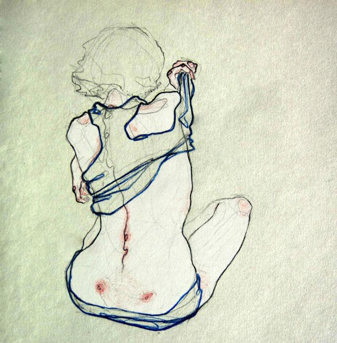Художница любит и умеет работать с цветом, который в некоторых её иллюстрациях несёт значительную эмоциональную нагрузку