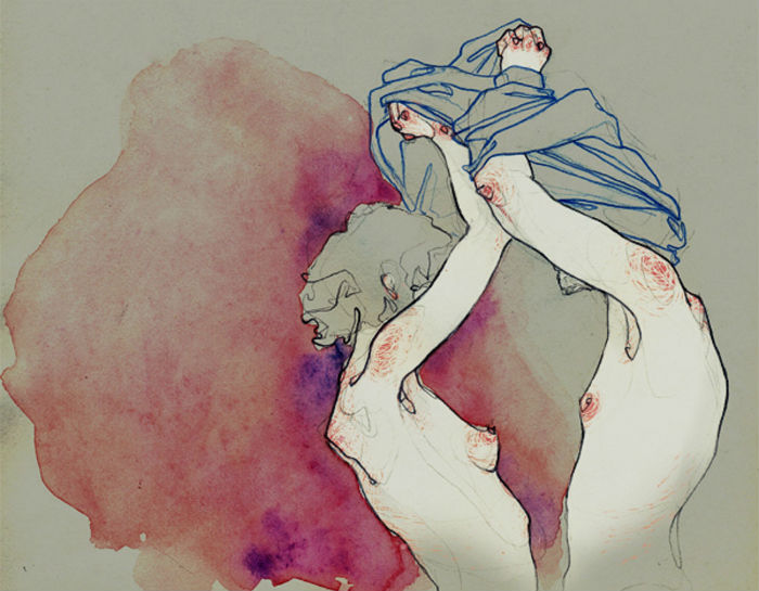Серия «Take Off Your Clothes» («Раздевайся») испанской художницы