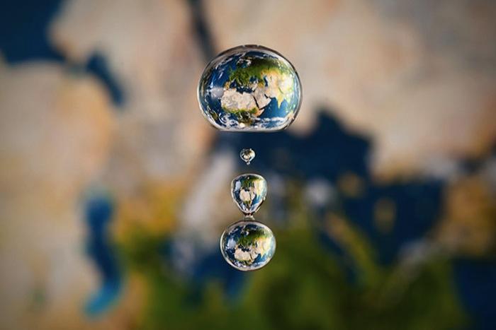 Мир в капле, фотография Reugels