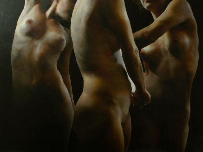 О телесном возвышенно: откровенные работы  в жанре фигуративного реализма