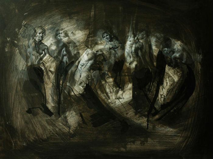 Серия откровенных работ польской художницы Анны Выпых