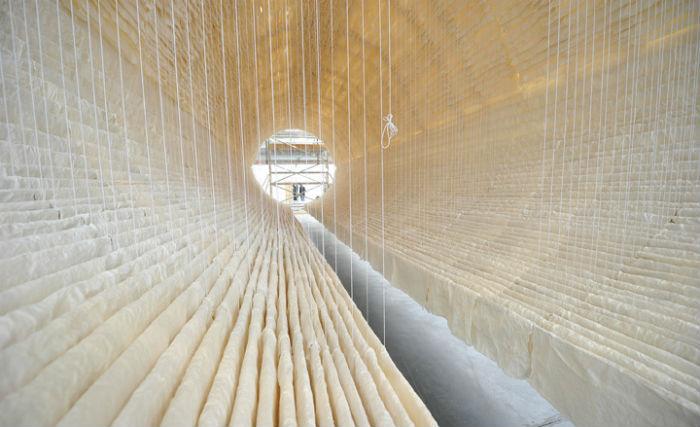 В прошлом месяце пространственной композицией можно было полюбоваться в галерее Art13 в Лондоне