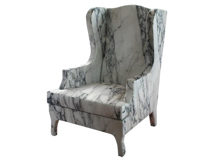 Мраморное кресло Louis XV