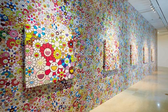 """Выставка """"Такаши в суперплоской стране чудес"""", автор Такаши Мураками"""