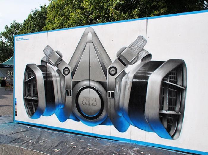 Ежегодный фестиваль стрит-арта в Лондоне 2013, посвященный 150-летию местного метро