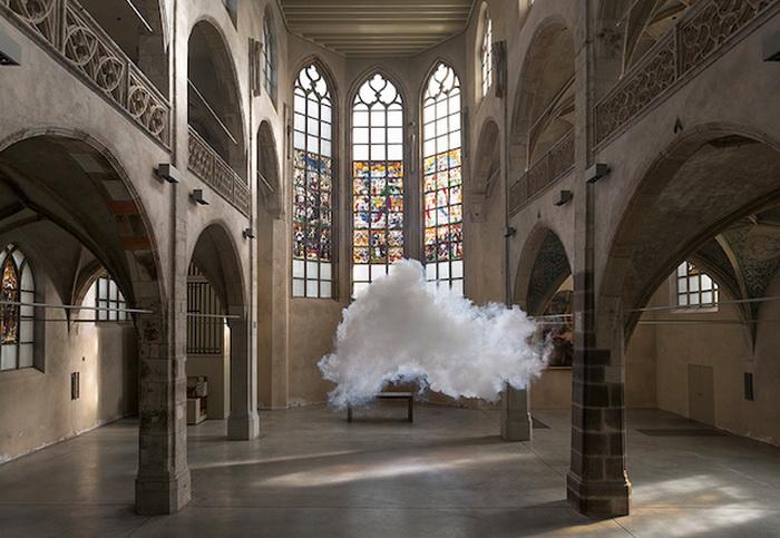 Облака от Berndnaut Smilde.