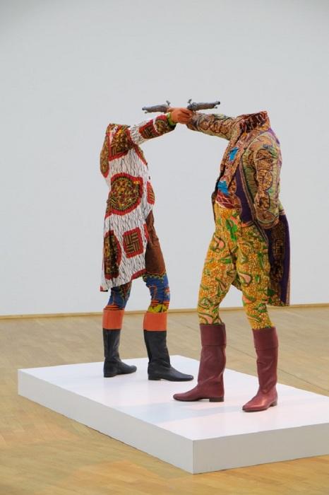 Экспонаты MMK Modern Art Museum во Франкфурте.