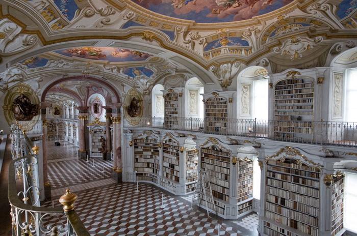 Стиль барокко в Admont Abbey
