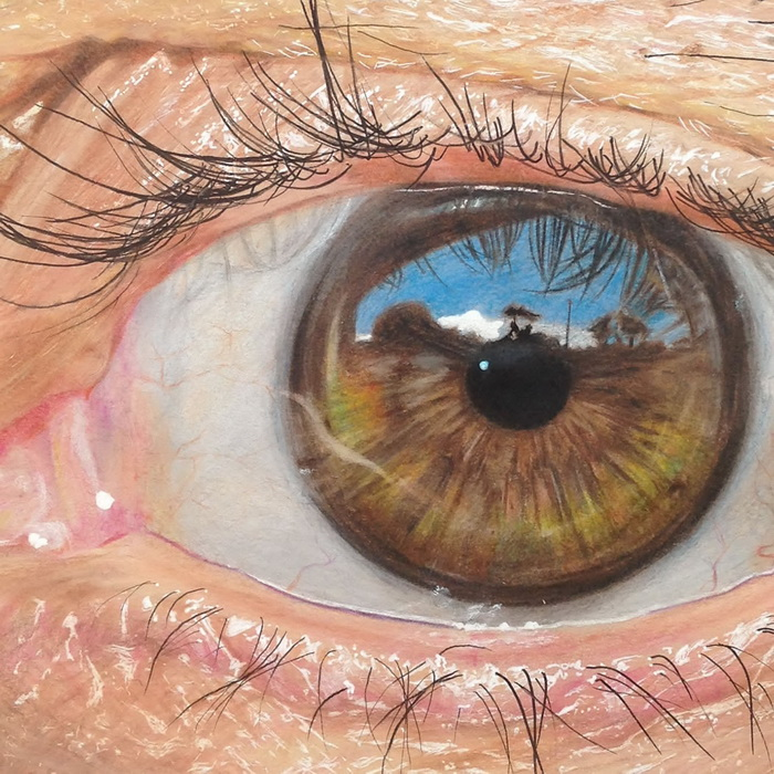Гиперреалистичные изображения глаз