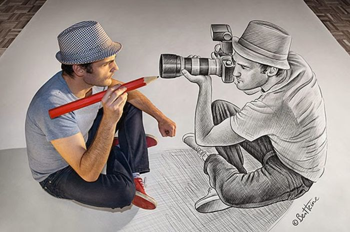 Новые работы «Карандаш против камеры»