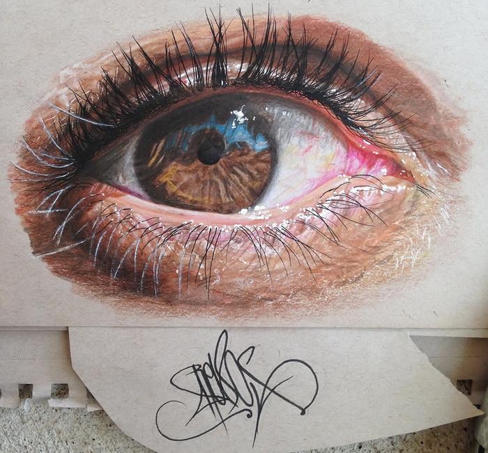 Глаза от Redosking