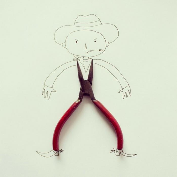 Серия забавных рисунков художника Javier Perez