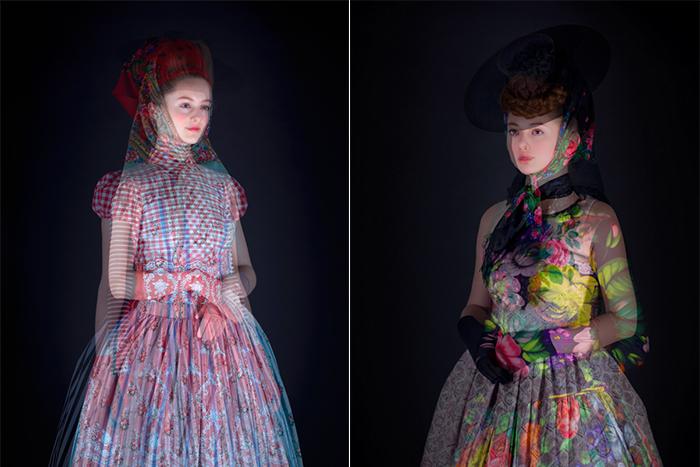 Серия фотографий  Dreimаderlhaus: мир моды в формате 3D