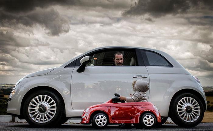 отец и сын автомобилисты