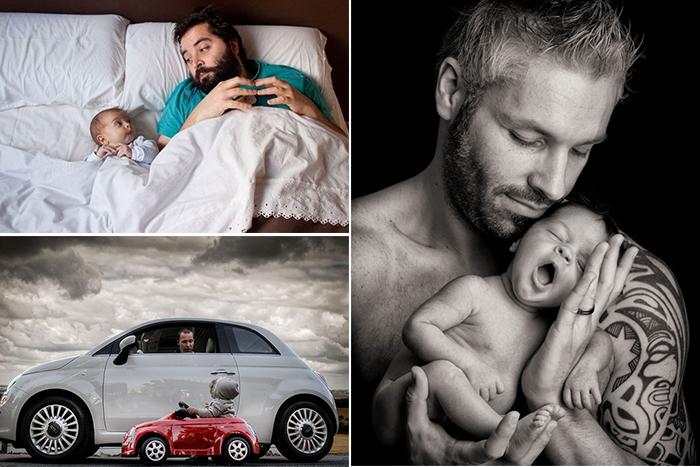 обзор фотографий из серии отцы и дети