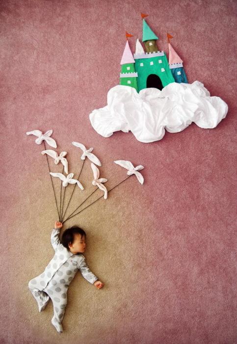 спящий младенец от Queenie Liao