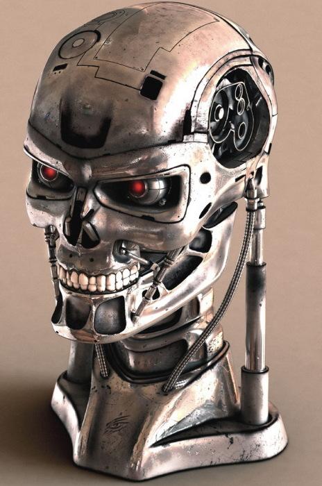 3D-роботы от современных художников