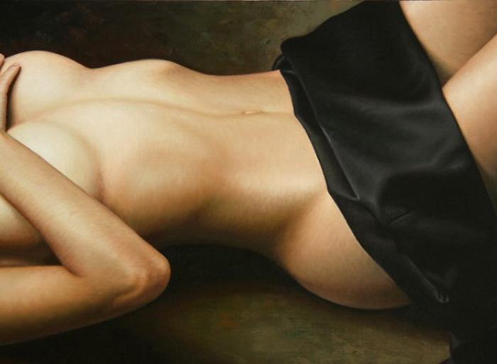 гиперреалистичные картины Омара Ортиса