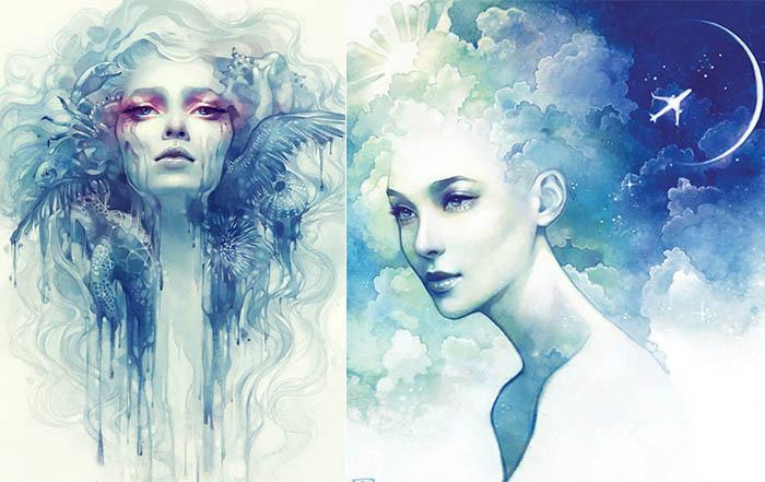 Сказочные женские портреты