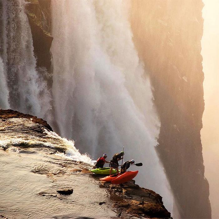Фотография из серии приплыли: каякинг
